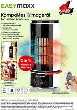EASYmaxx 2IN1 Klimagerät Verdunstung kühler Befeuchter Ventilator Keramik Heizer
