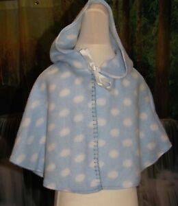 Babies blue cape, age 6 - 12 months, NWOT