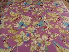 NEW LISTING BORNEO BY PRESTIGIOUS STUNNING FLORAL COTTON FABRIC BY THE METRE
