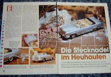 MERCEDES-BENZ 250 SE in 1-18 von Schuco......ein Modellbericht   #1995