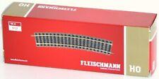 Fleischmann H0 6131-S Gebogenes Gleis, 18° Radius R3 (10 Stück) - NEU + OVP