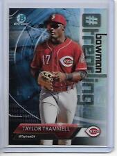 2018 Bowman Taylor Trammell Chrome Bowman Trending Insert Card