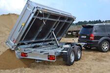 Agados Atlas 3 Seitenkipper 2700 kg,Tandem 330x170x35cm Stahlboden Frontklappe