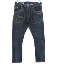 SINGLY Dark Grey Pockets Denim Jeans Size 29 32