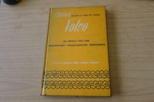CHILTON'S REPAIR AND TUNE-UP GUIDE - VOLVO ALL MODELS 1956 - 1968
