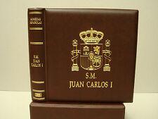 Album  Numis JUAN CARLOS I con funda cajetín.