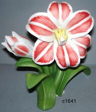 Lenox Garden Flower Series Amaryllis Sculpture - New In Box