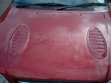 Ford Escort Cosworth Bonnet Vents - Fully Functional - Unpainted - New