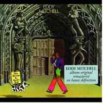 CD EDDY MITCHELL 1998 DIEU BENISSE LE ROCK N' ROLL  jaquette origine réédition