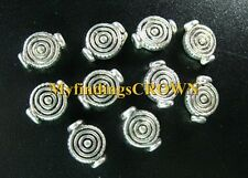 100 pcs Tibetan Silver spiral pot spacer beads FC305