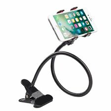 Universal Lazy Bed Desktop Car Stand Mount Holder For Cell Phone Long Arm FM