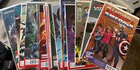 Captain America 1st Falcon as Cap! 33 NM books variants Falcon & Winter Soldier