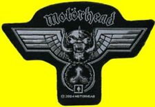 "Motörhead "" Hammered "" Shape Logo Patch 600807 #"