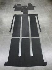 $$$ Velours Fußmatten für VW T6 Multivan Bus + Gastraum Kofferraum + KOMPLETTSET