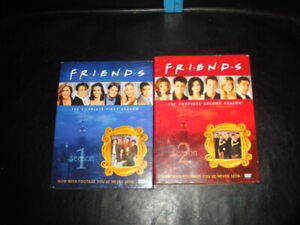 Friends Season 1 and 2 DVDs