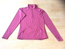 Sport-Tek Crescent Ladies 1/4 Zip Pink Workout/Warm Up Top, Size: XS