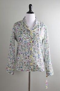 ANTONIO MELANI X Liberty Art London NWT $168 2 Piece Pajama Top Shorts Size XL