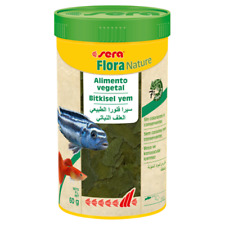 Sera Flora Nature 250ml alimento vegetal natural, sin colorantes ni conservates