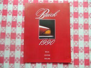 1990 Buick Regal, Century + Skylark Original Sales Brochure in Mint Condition