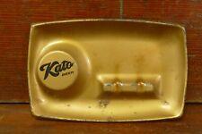 Vintage Rare Kato Beer Metal Ashtray - Mankato, Minnesota Brewing Company
