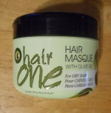 8oz HAIR ONE HAIR MASQUE WITH OLIVE OIL for dry hair UNSEALED