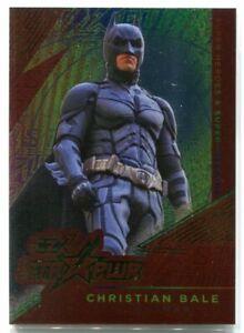2019 CZX Super Heroes & Super-Villains STR PWR 24 Christian Bale as Batman