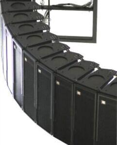 9X Line Array of SLS LS8800 Full-range Bi-Amped Speakers