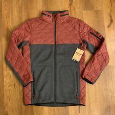 Burton Mens MB Pierce Full Zip Fleece Hoodie Jacket Sz Medium $200