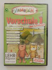 PC CD-ROM Janosch Vorschule und Schulstart Mathe und Logik Neu originalverpackt
