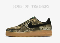 NIKE AIR FORCE 1 07 LV8 3 REALTREE CAMO WOODLAND BLACK ALOE BROWN MEN'S TRAINERS