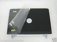 NEW Dell Inspiron 1520 1521 Vostro 1500 LCD Back CoverW/Hinges Black YY038 DY639