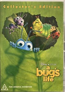 DISNEY A Bug's Life  (DVD 2003, 2-Disc Collector's Edition)  AS NEW  FREE POST
