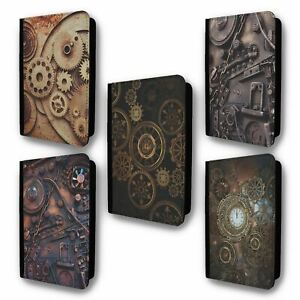 UK Passport Holder Case Cover Steampunk Collection 1