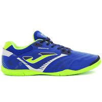 New Joma Indoor Shoes Maxima 904 Royal Lime Green Fluor Soccer Futsal Men 8.5