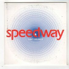 (FY342) Speedway, Can't Turn Back - 2003 DJ CD