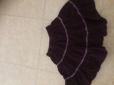 PICK OUIC  jupe velours cotele   4 ans taille elastique BE