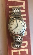 Vintage Omega Seamster Automatic 166.010 w/ beads of rice bracelet Watch