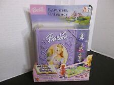 Barbie Rapunzel Fantasy Tales Play set  NEW! RAPUNZEL! GAME BOARD & STORAGE CASE