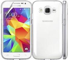 Crystal Clear Hard Case Cover per Samsung Galaxy J1 + Proteggi Schermo