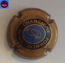 """Capsule de Champagne POMMERY Fond Bleu """"Ovale"""" Non référencée Introuvable !!!!!"""