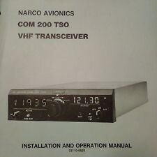 Narco Com 200 TSO Transceiver Install Manual