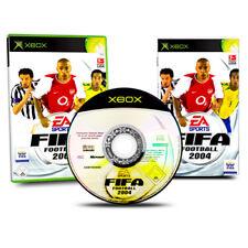 XBOX Spiel FIFA FOOTBALL 2004 - FIFA 2004 - Fußball in OVP mit Anleitung