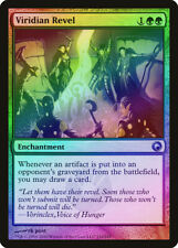 Viridian Revel FOIL Scars of Mirrodin NM Green Uncommon MAGIC CARD ABUGames