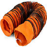 25 FT PVC Flexible Duct Hosing Φ 20in 7.6M for Exhaust Quick Connect