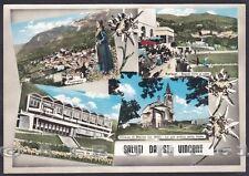 AOSTA SAINT VINCENT 111 SALUTI da... COSTUME - TIRO A VOLO Cartolina FOTOGRAF.