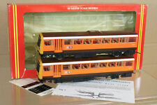 HORNBY R297 BR GREATER MANCHESTER PTE PACER TWIN RAILBUS DMU LOCO 55554 MIB nj