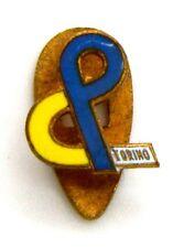 Distintivo C&P Torino (A.E. Lorioli Fratelli Milano), cm 1,2 x 1,2
