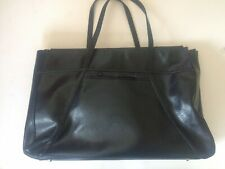 Large Black Leather Anya Hindmarch Bag