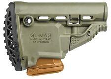 GL-MAG ARP FAB Defense OD Green Butt Stock w/ 5.56/223 Magazine Carrier IDF