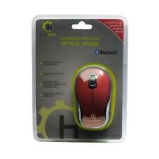 GearHead MBT9650RED 3-Button Bluetooth Wireless Optical Nano Scroll Mouse